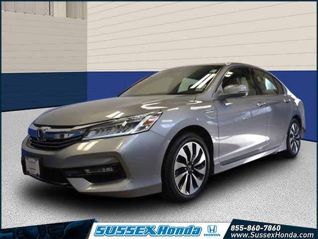 Certified Pre Owned 2017 Honda Accord Hybrid Touring Sedan In Newton 10581t Sus