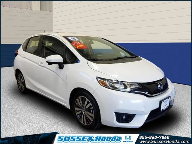 Certified Pre Owned 2016 Honda Fit Ex Wagon In Newton 10593t Sus